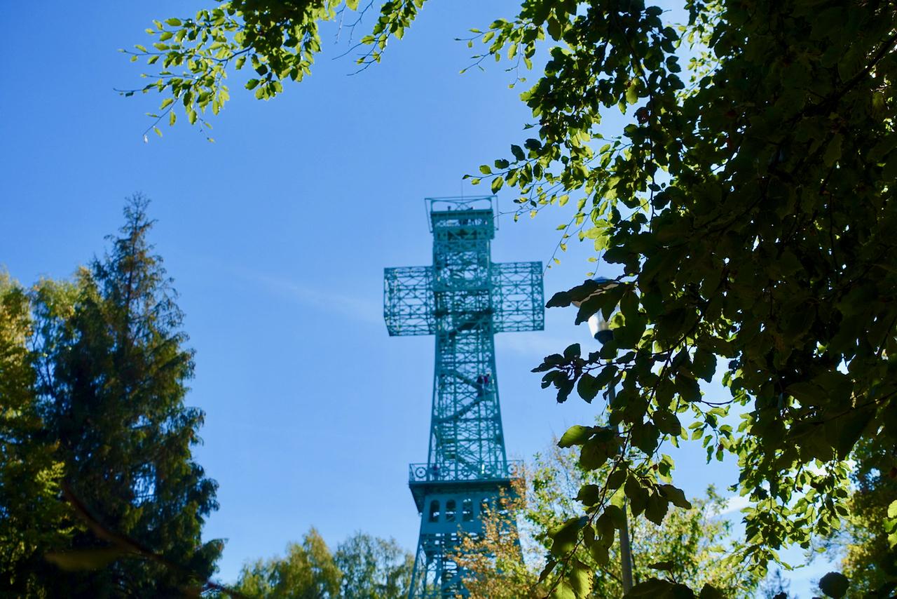 Harzer Wandernadel Stempelstelle Josephkreuz bei Stolberg