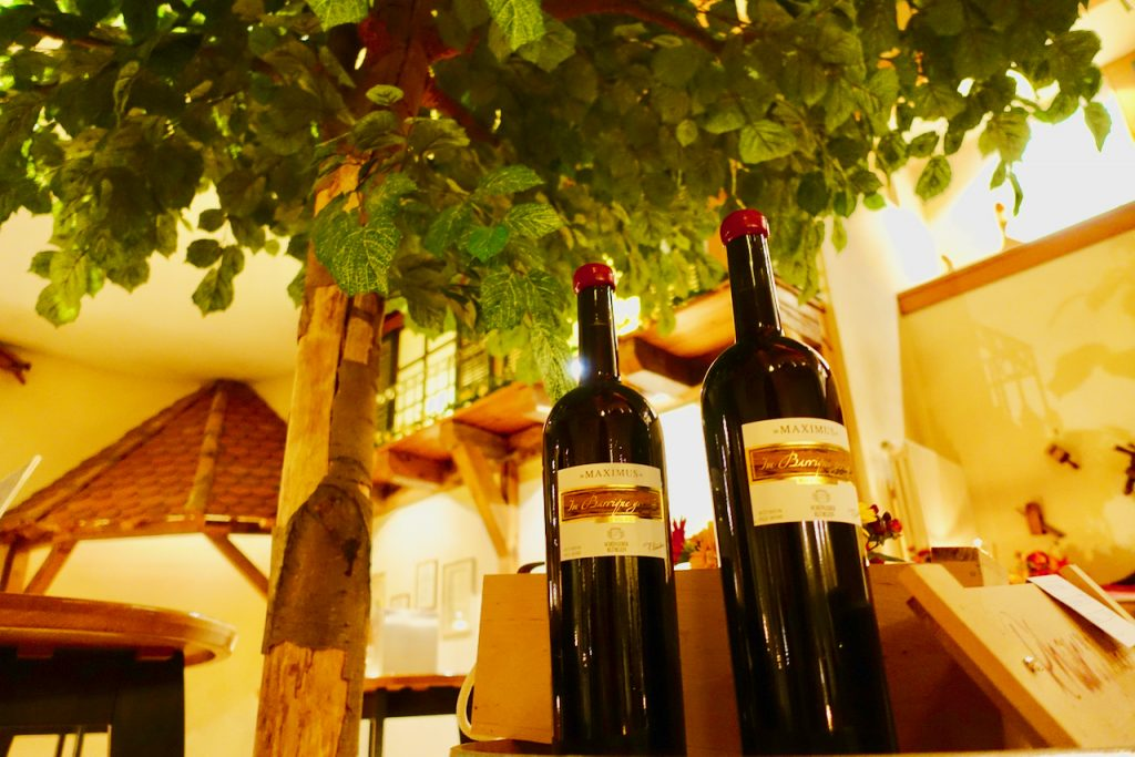 Im Weinkeller von Schoenleber Bluemlein