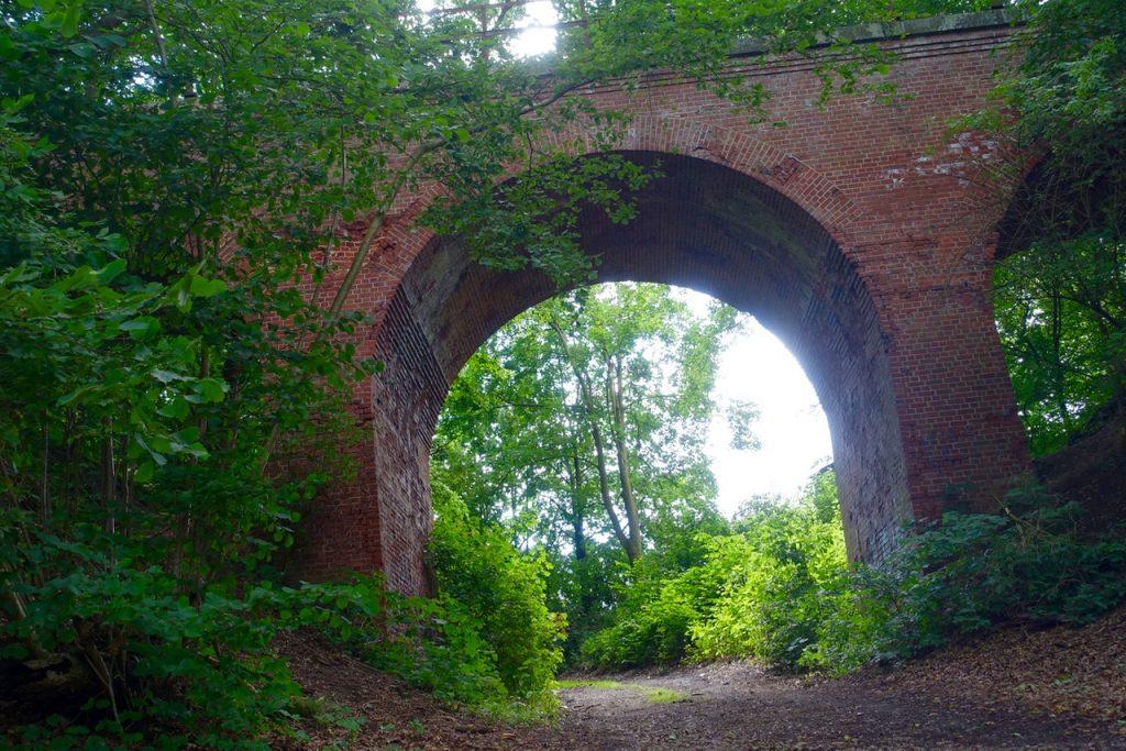 Auf dem Estewanderweg - Viadukt bei Hollenstedt
