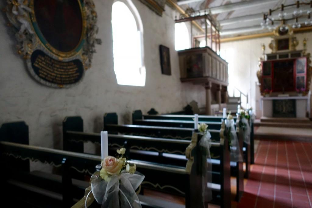 In der Kirche von Moisburg