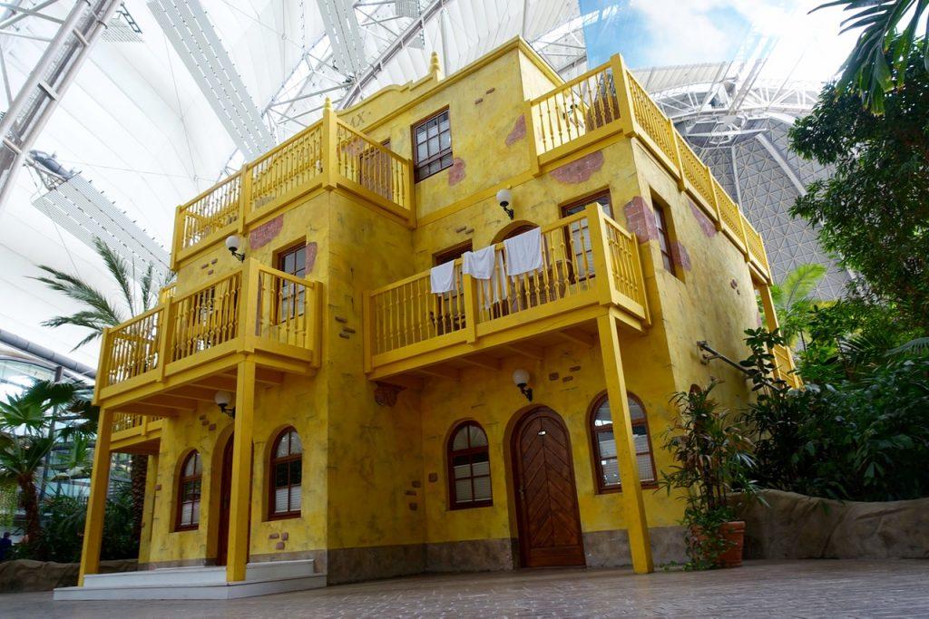 Tropical Island Übernachtung - Beispiel Premiumzimmer an der Plaza