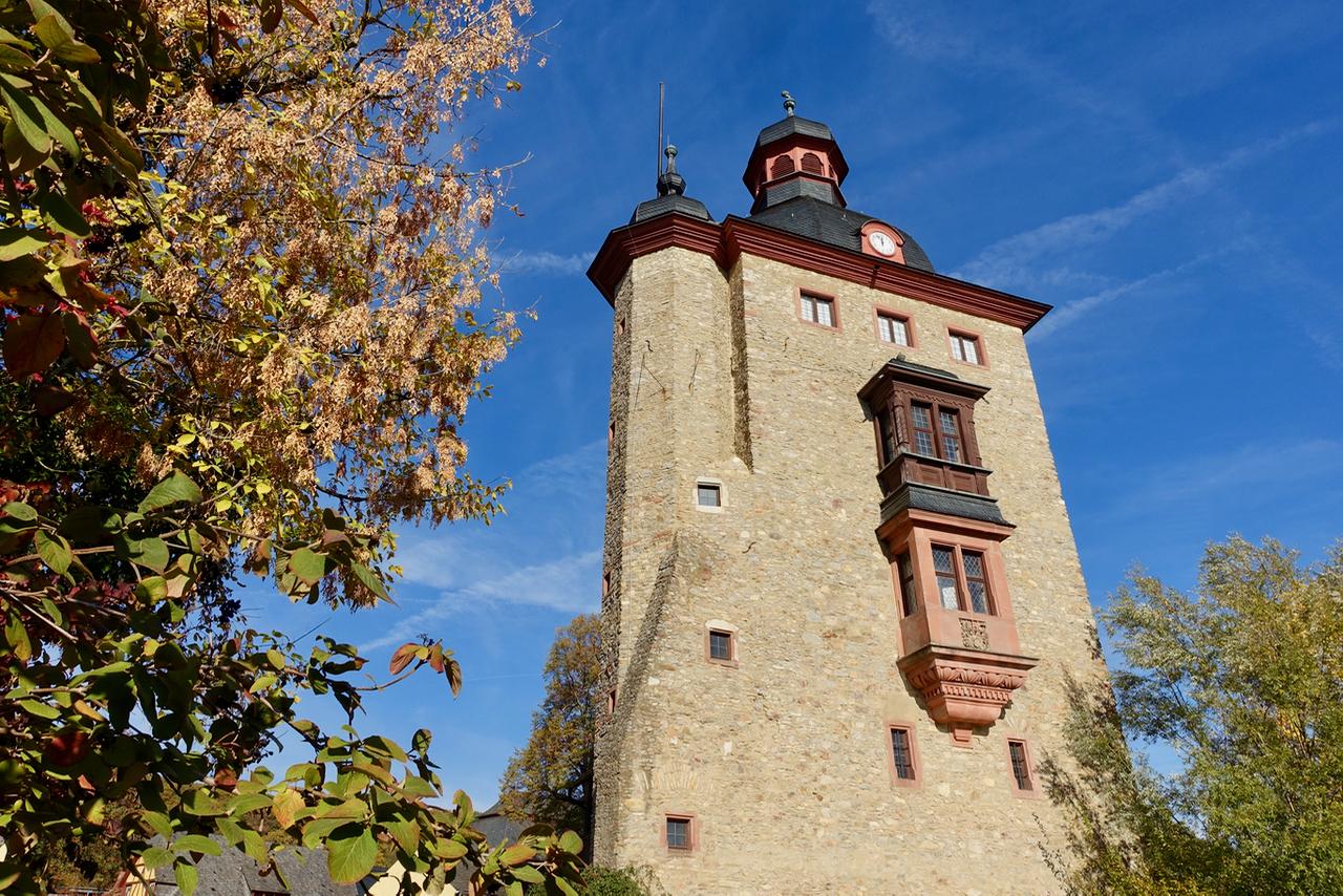 Schloss Vollrads Rheingau Wandertour auf dem Rheinsteig