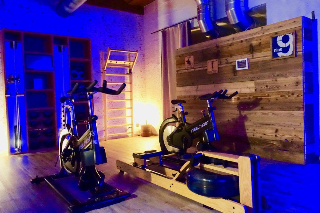 Fine Lounge Hotel Fitnessraum