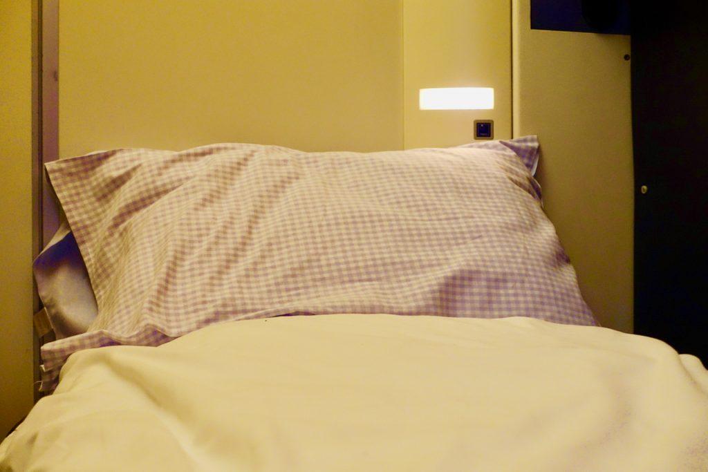 Mein Bett im Nightjet Liegewagen