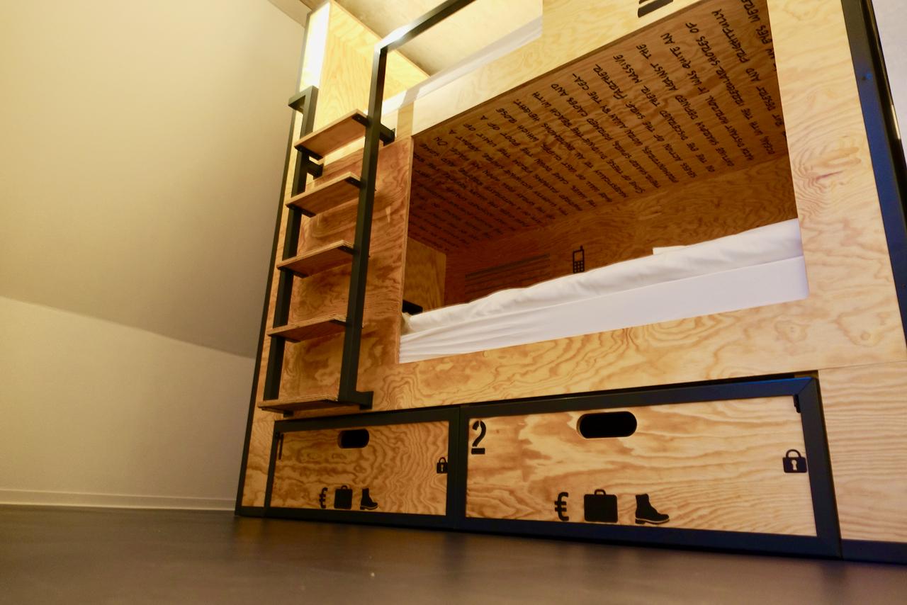 Hostel Muenster Blick ins Zimmer