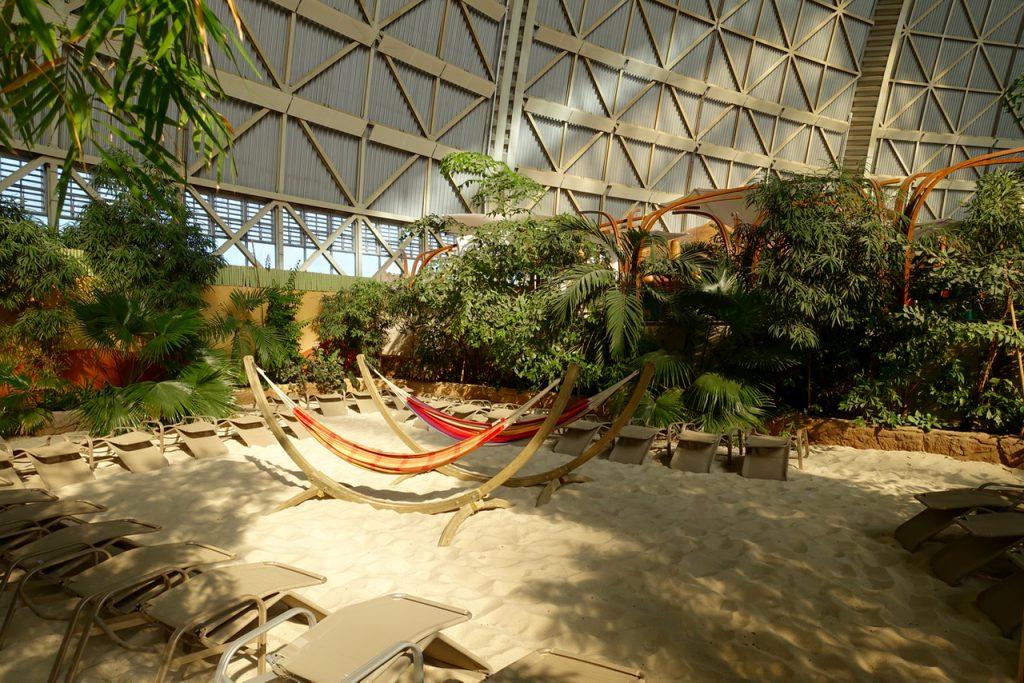 Tropical Island Tagung - kleine Ruheecken