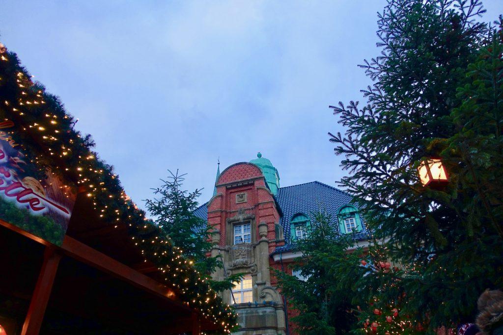 Weihnachtsmarkt Buxtehude Rathaus