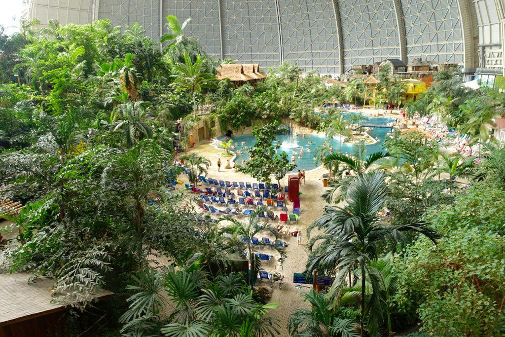 Tropical Island Tagung unter Palmen