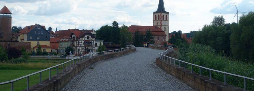 Vacha an der Landesgrenze Thüringen/Hessen