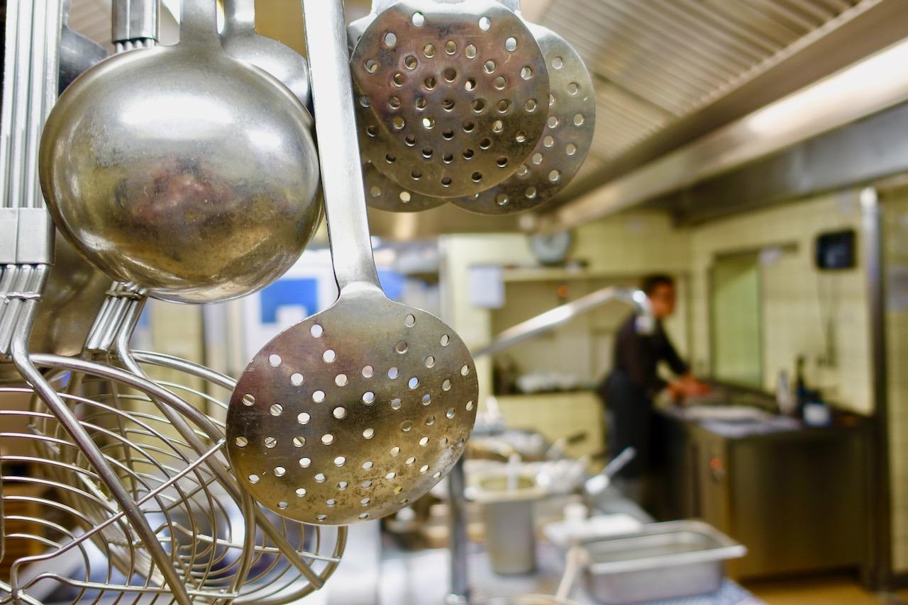 Blick in die Gastronomie Parkhotel Bad Bevensen