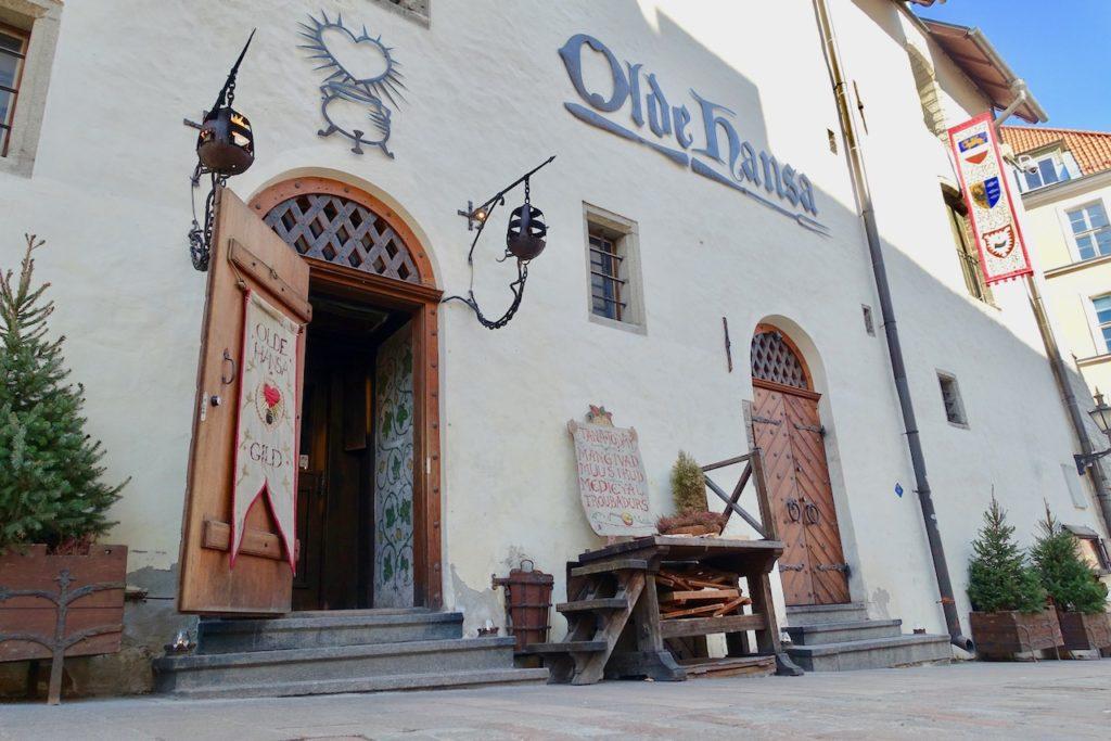 Tallinn Essen Restaurant Olde Hansa