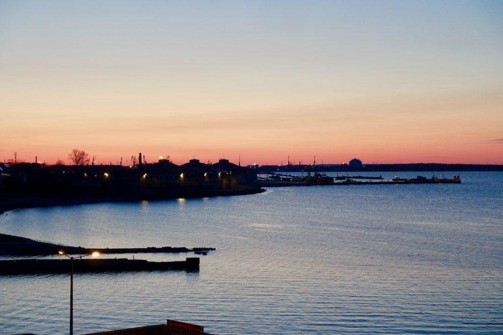Linnahal: Tallinn Spot zum Sonnenuntergang
