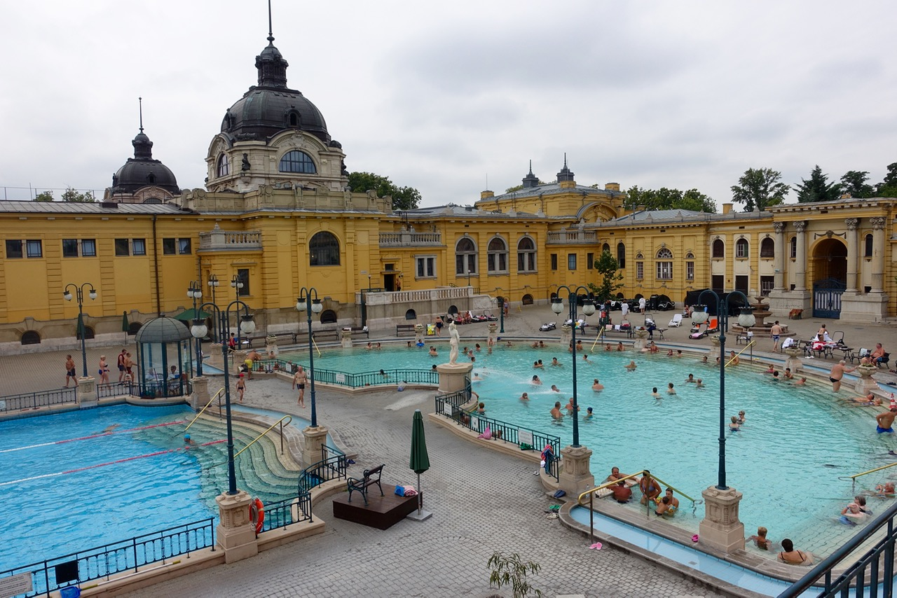 Das Szechenyi Bad Budapest