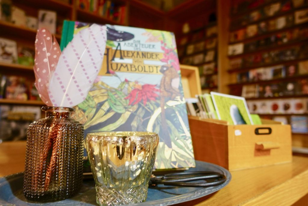 Uebernachten in der Buchhandlung