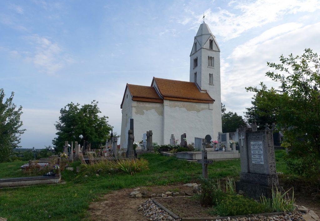 Bad Heviz - Kirche in den Weinbergen