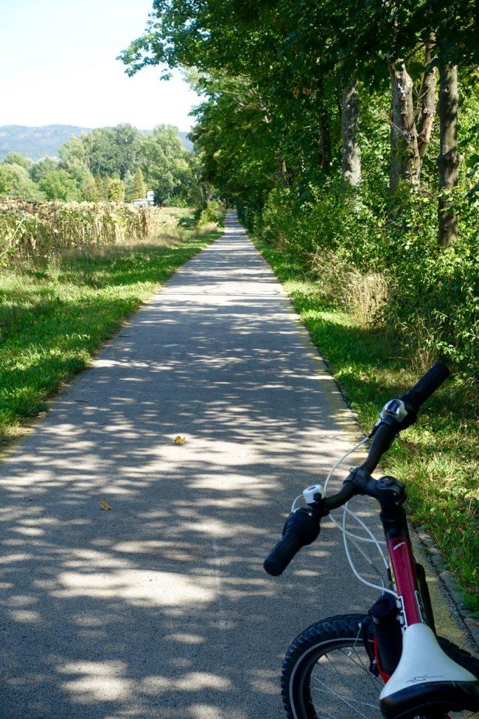 Mit dem Fahrrad von Bad Héviz an den Balaton