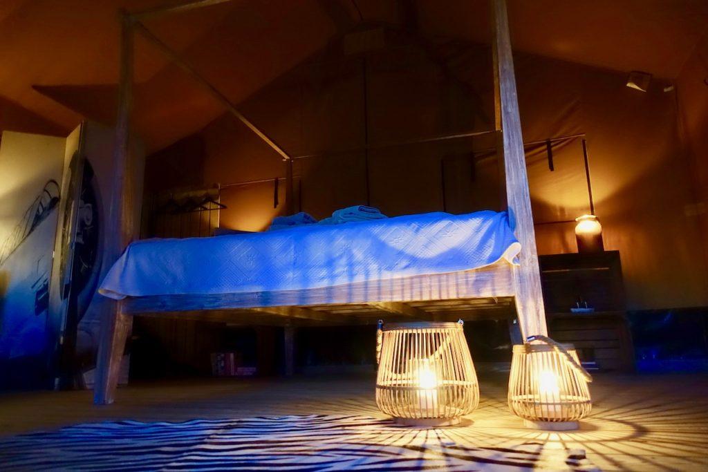 Camping Grossensee ungewoehnlich uebernachten in der See-Lodge