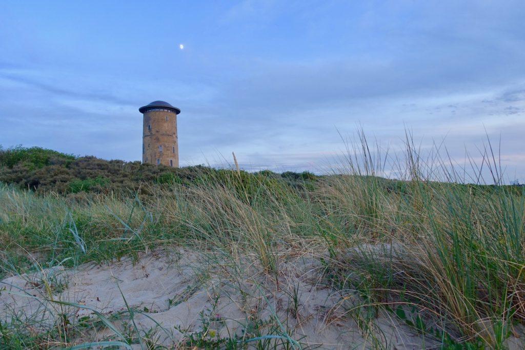 Strand Domburg Wasserturm