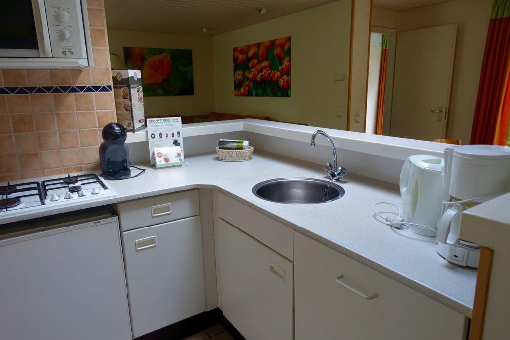 Küchenzeile Premium Gästehaus Center Parcs Bispinger Heide