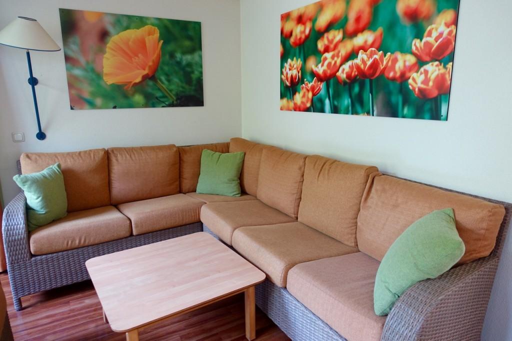 Wohnzimmer im Premium-Ferienhaus