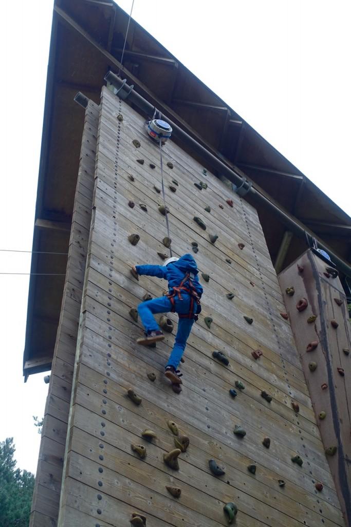 Auch Klettern ist möglich