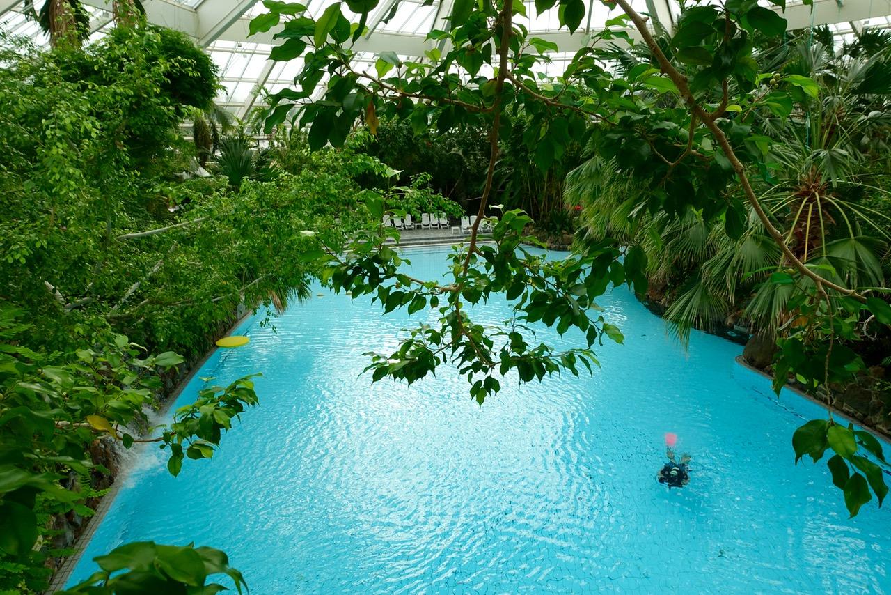 Center Parcs Bispinger Heide – Blick ins Aqua-Mundo