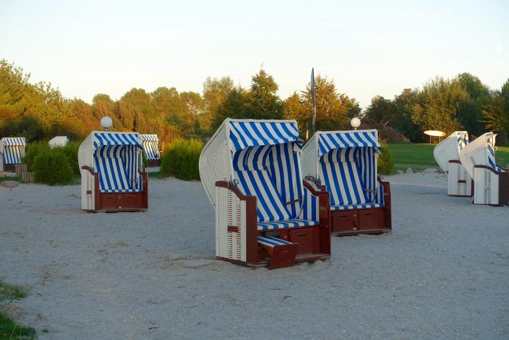 Logenplatz im Strandkorb - Lindner Hotel & Spa Rügen