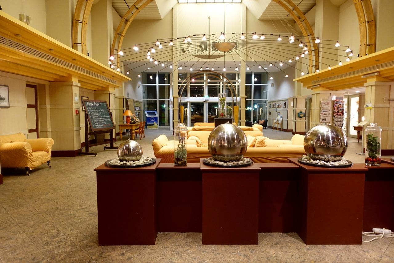 Lobby im Lindner Hotel & Spa Rügen