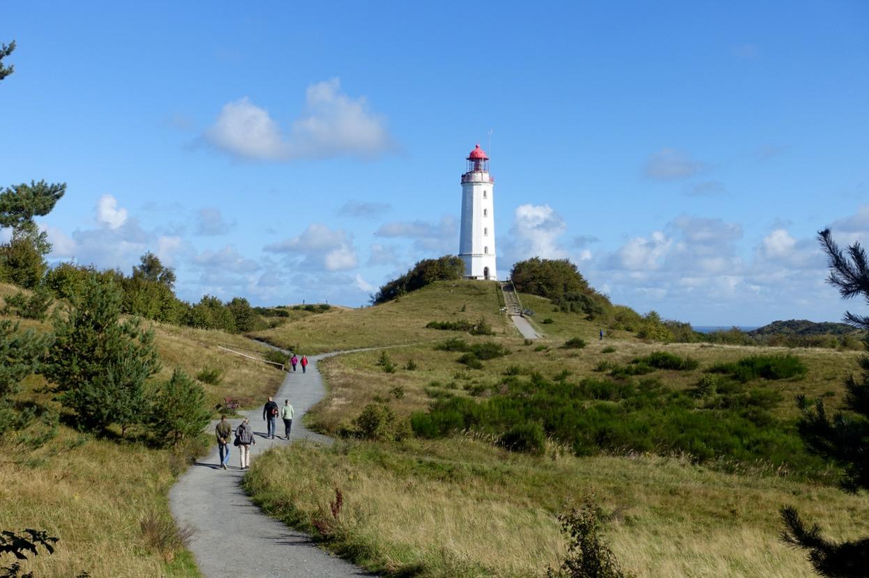 Tagesausflug Hiddensee: Entspannt mit dem Fahrrad über die Insel