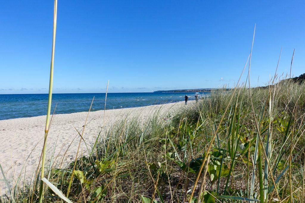 Rügen Urlaub am Meer - Am Strand auf Rügen