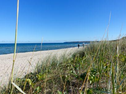 Am Strand auf Rügen