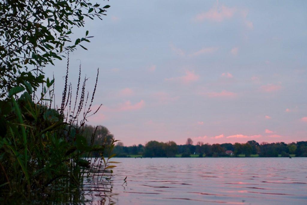Sonnenaufgang Voerder See