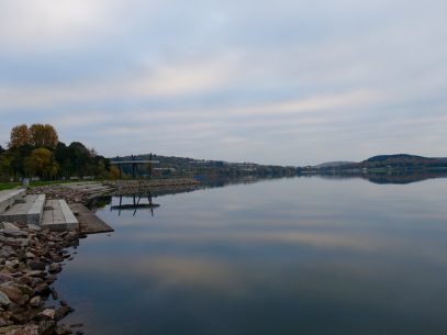 Früh am Morgen am Bostalsee