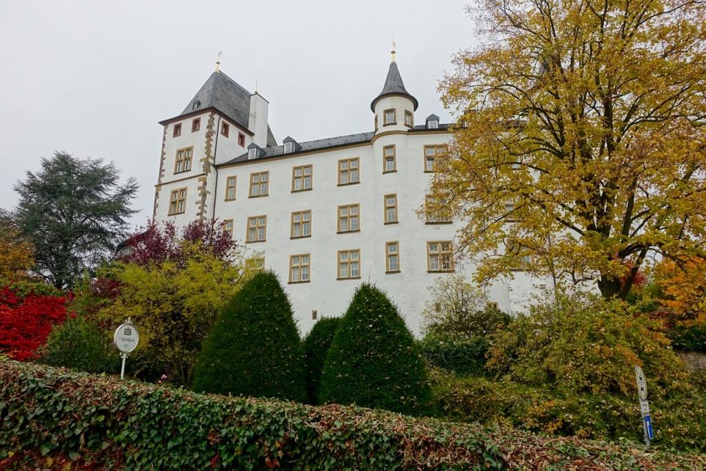 Schloss Berg - eine wunderschöne Kulisse für Victor's Winter-Wonderland
