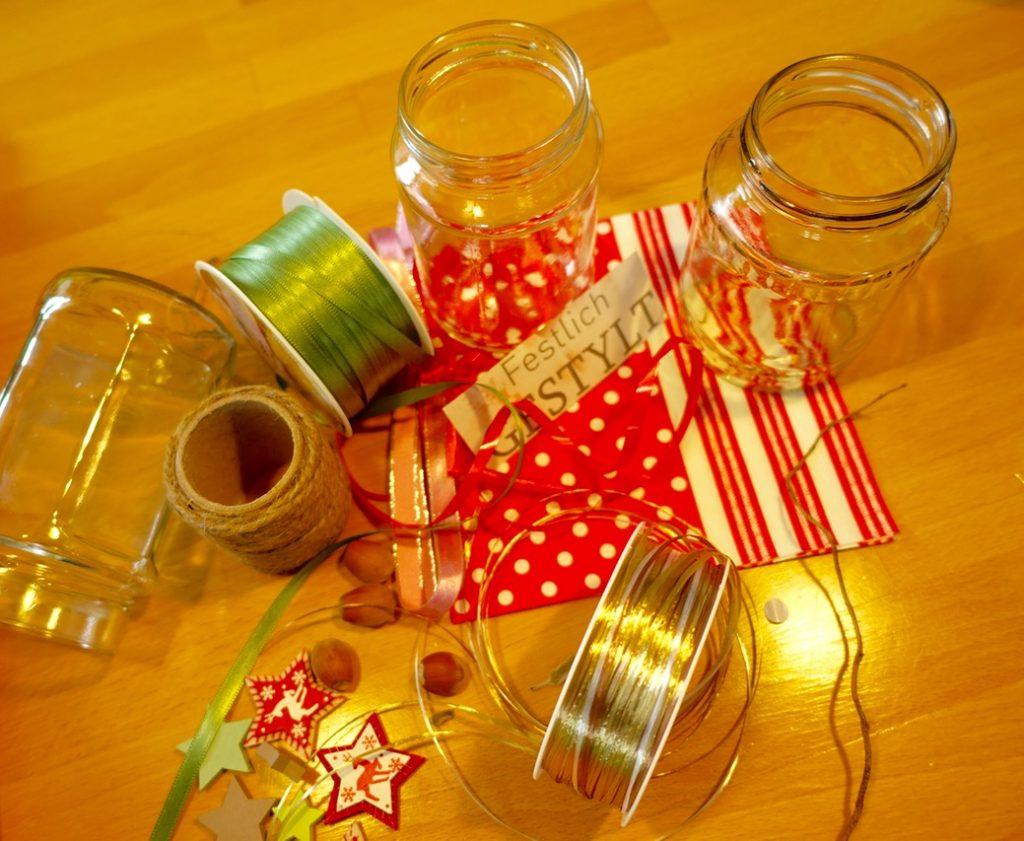 Material DIY Weihnachtsgeschenke