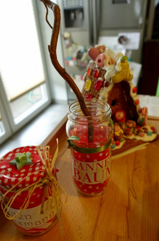 """Vase """"Tannenbaum"""" - DIY Weihnachtsgeschenke"""