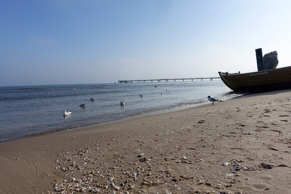 Am Strand auf Usedom - Strandpromenade Bansin bis Strandpromenade Swinemünde