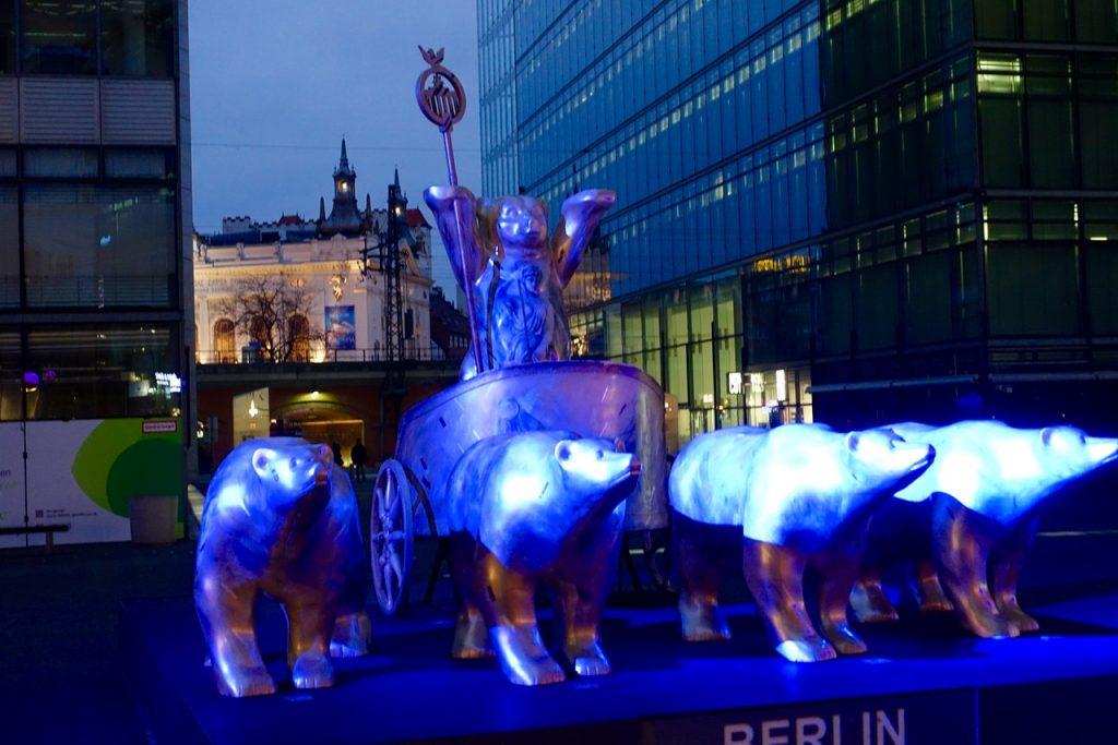 Wohin in Berlin heute, gestern und morgen