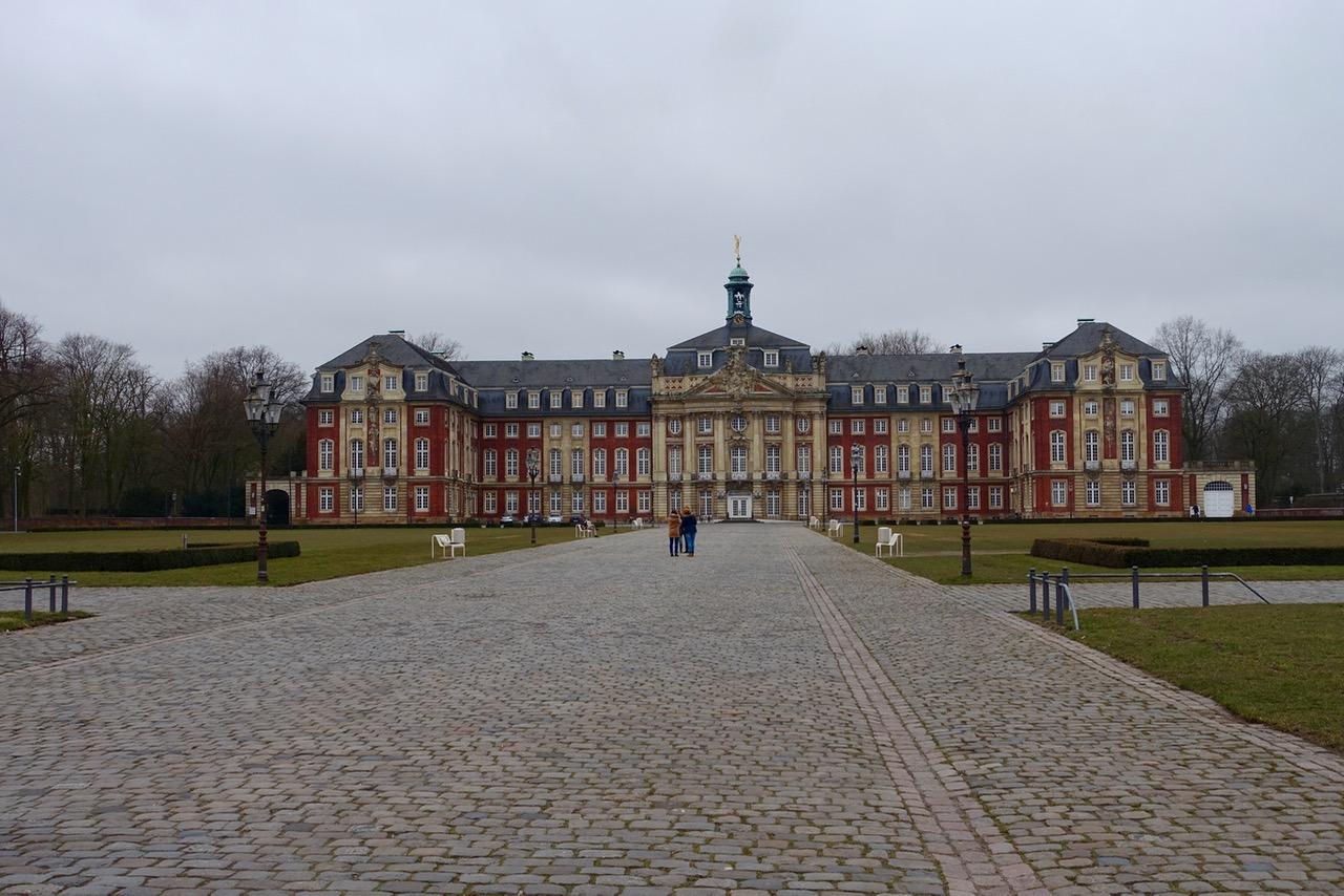 Am Schloss in Münster