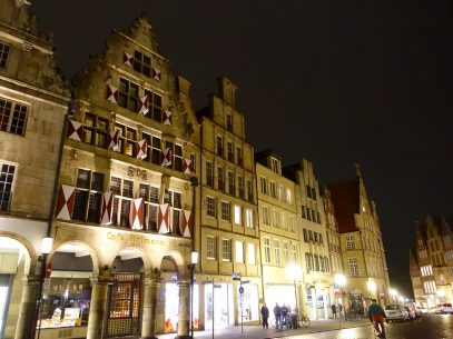 Rückweg durch das nächtliche Münster