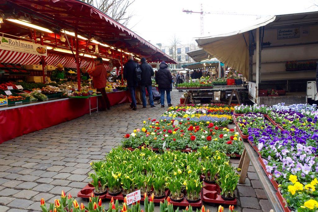 Streifzug auf dem Markt