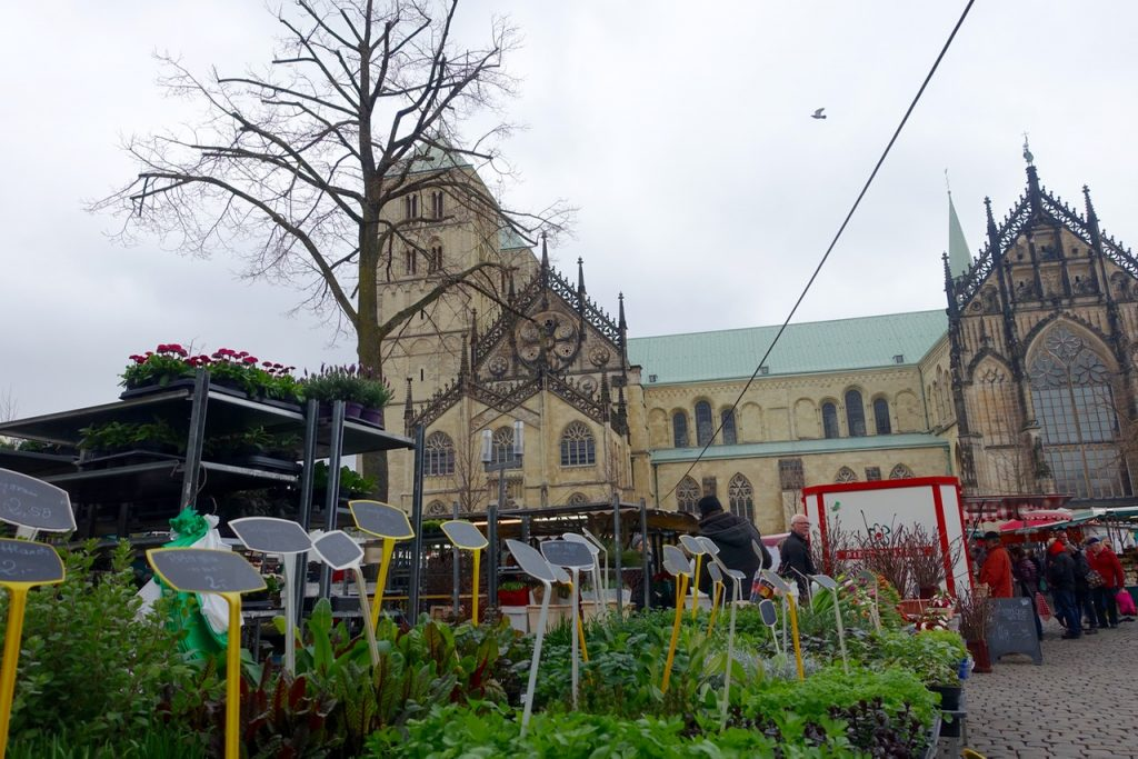 Am Samstag auf den Markt