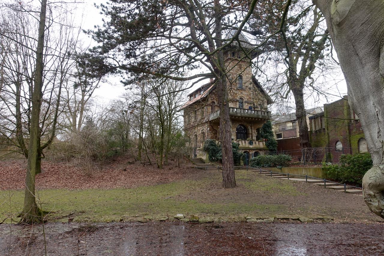 Das alte Haus vom alten Zoodirektor im ehemaligen Zoo