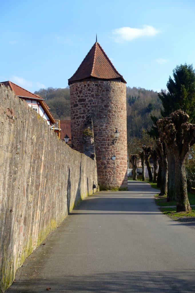 Hexenturm und Bürgerturm