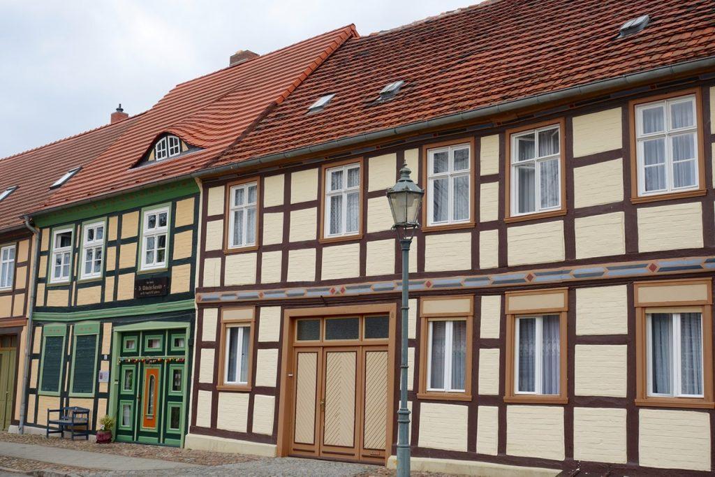 Kleiner Stadtkern von Bad Wilsnack