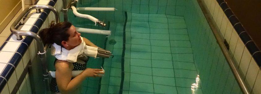 Ich erlebe selber das Gewichtsbad