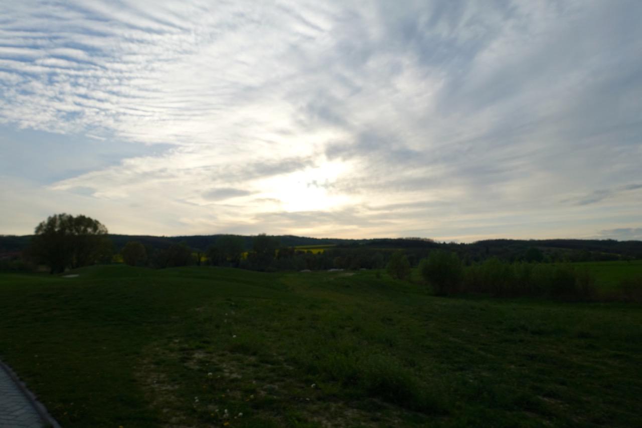 Sonnenuntegang über Zala Springs