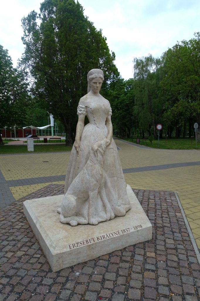 Sissi Statue am Ufer des Plattensee