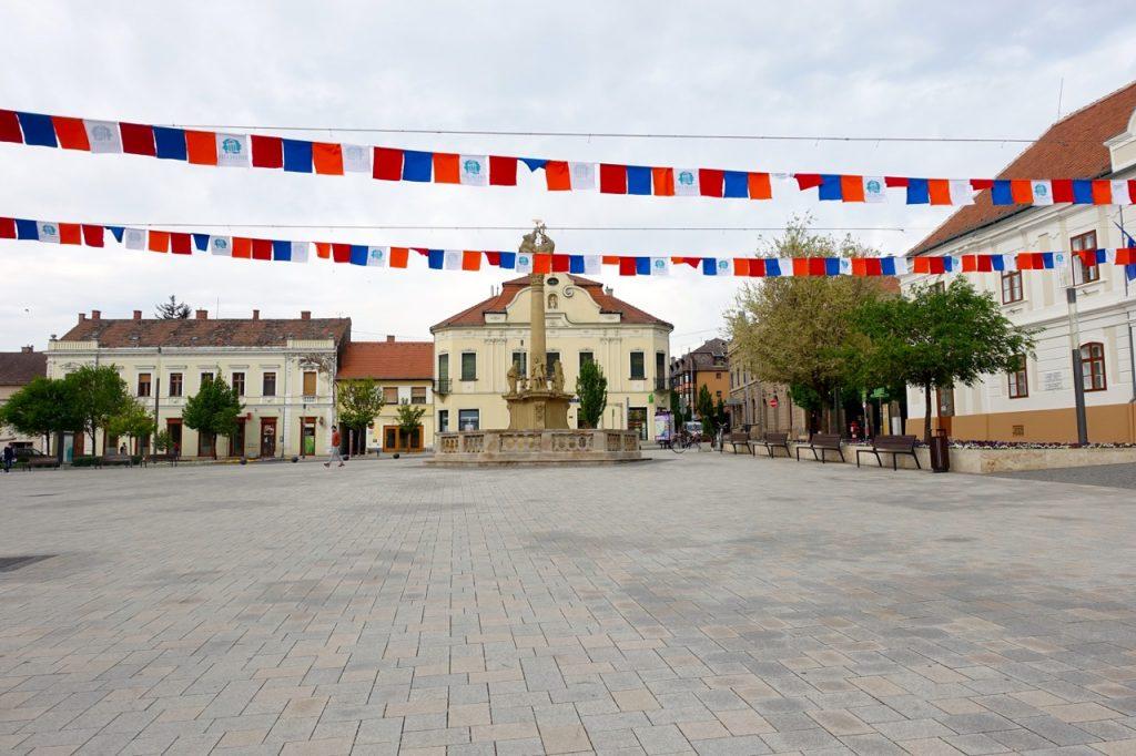 Marktplatz Keshtely