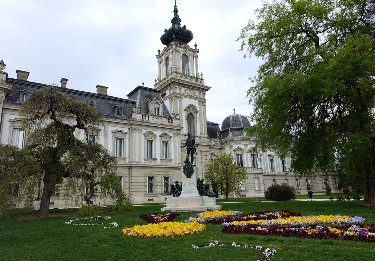 Ungarn Urlaub: Barockschloss Keszthely